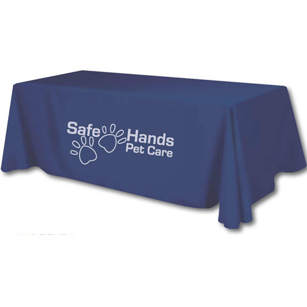 Customized 48 Hour Production Screen Printed Table Covers