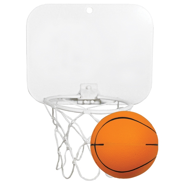 Mini Backboard with Basketball