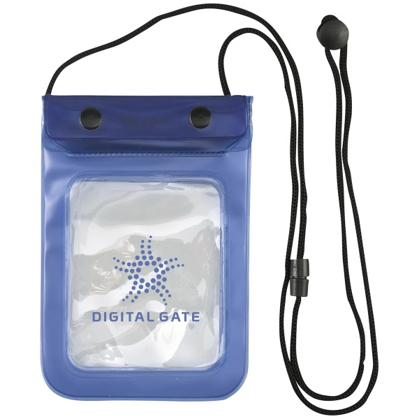 Waterproof valuables pouch