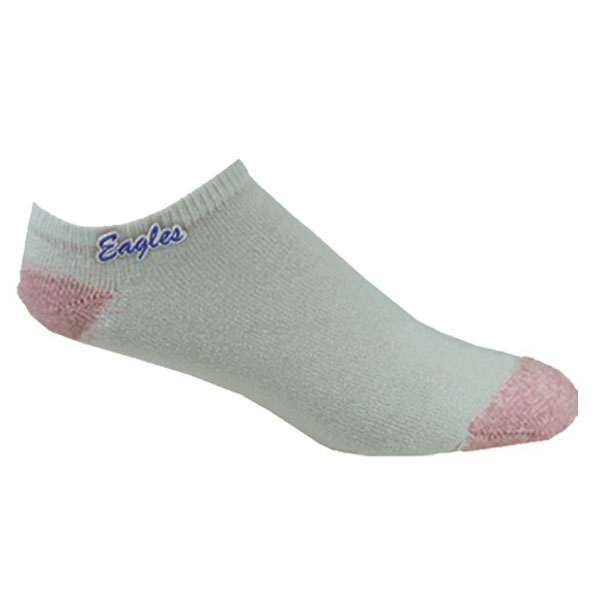Discontinued - Embroidered women's no show socks