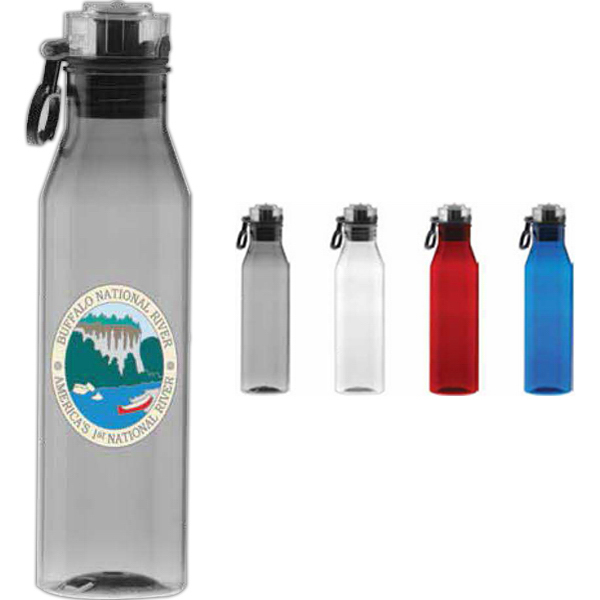 Custom Tritan (TM) Flip n' Sip Collection Water Bottle