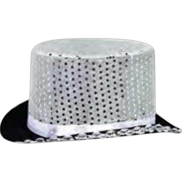 Customized Sequin top hat
