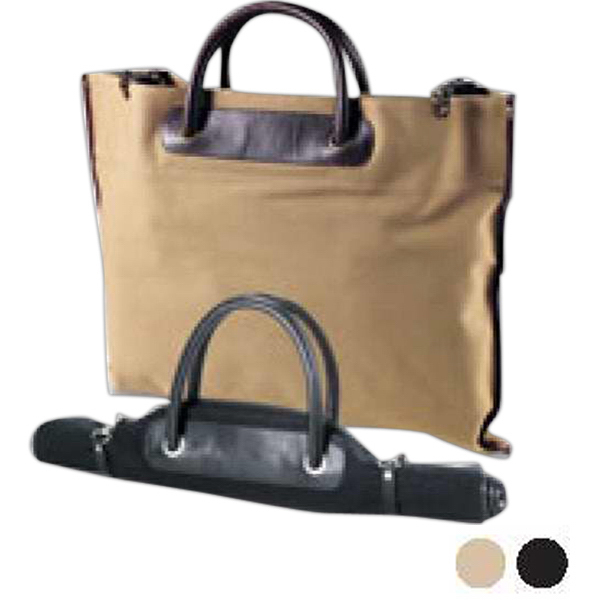 Customized Canvas roll-Up Tote