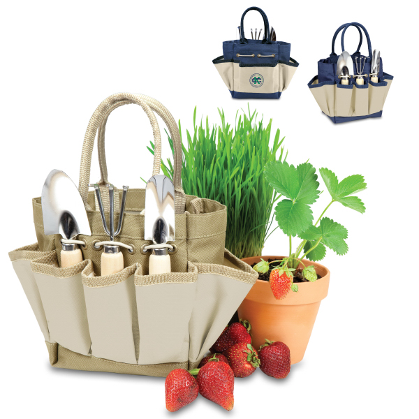 Imprinted Small Garden Tote