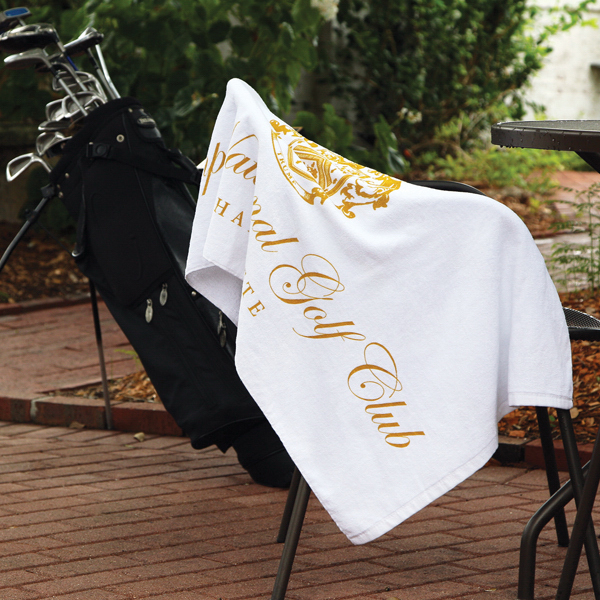 Personalized Caddy Towel