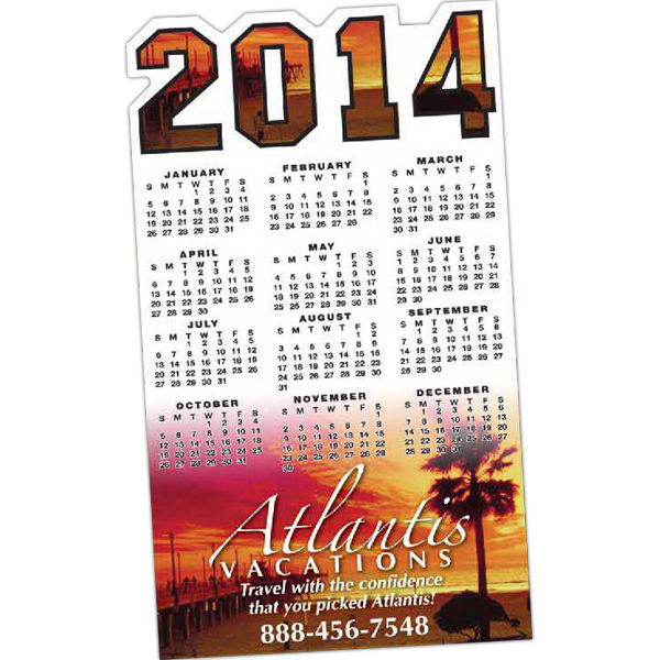 Personalized Calendar Magnet