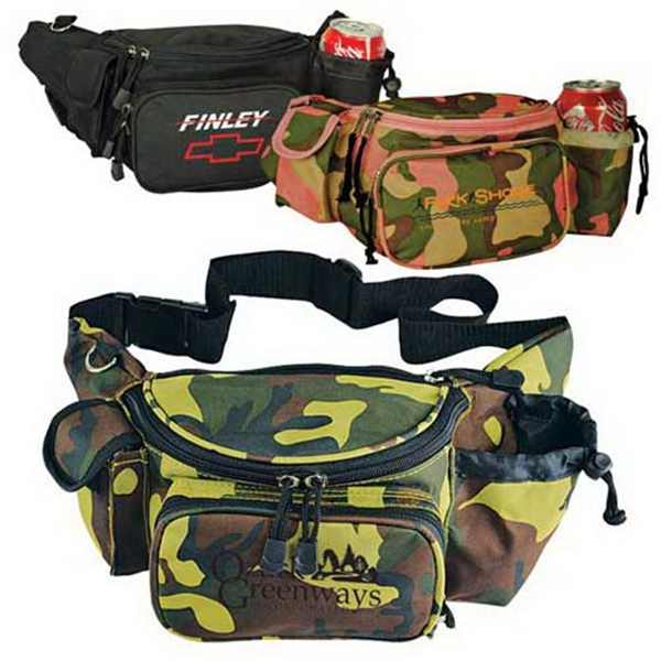 Imprinted Deluxe fanny pack