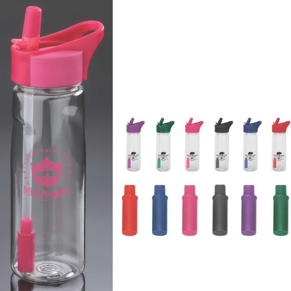 Promotional 22 oz. Pure Fresh Water Bottle