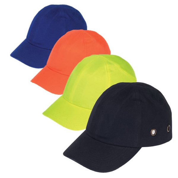 Customized Baseball bump cap with 4-point pinlock suspension