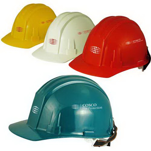 Basic hard hat with 4-point ratchet suspension
