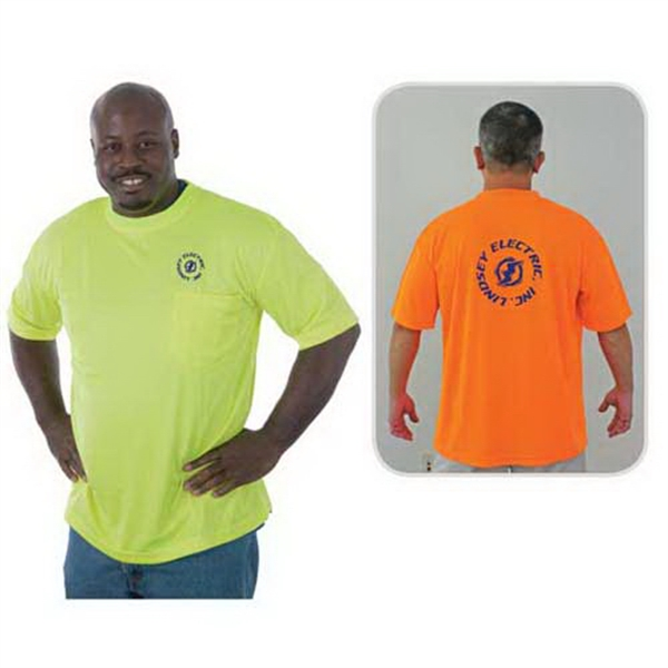 Promotional High visibility safety T-shirt