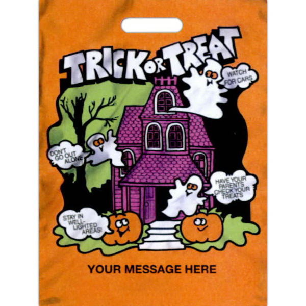 "Customized 11"" x 15"" Stock Design Halloween Bag"