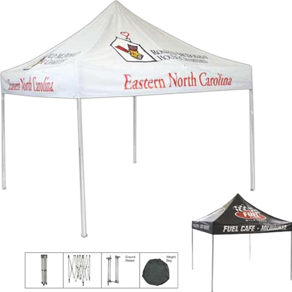 Custom Dye Sublimated Aluminum Frame Printed Tent