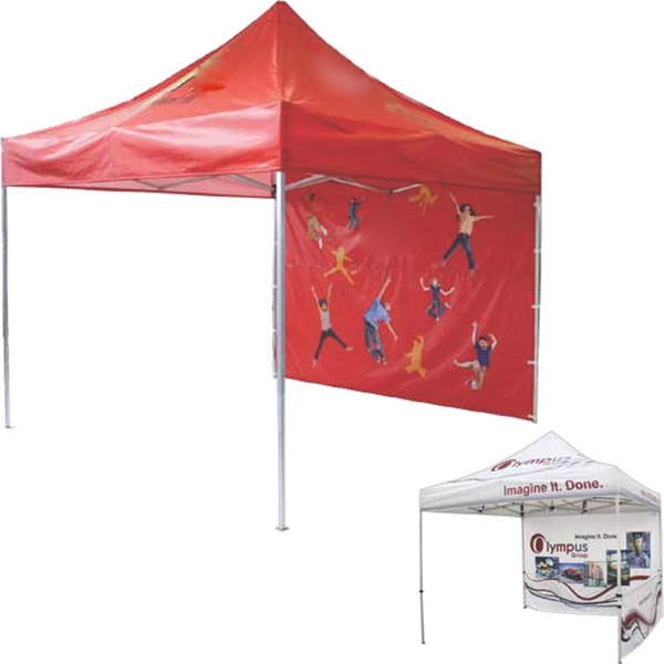 Promotional Dye Sublimated Single-Sided Tent Side Skirt