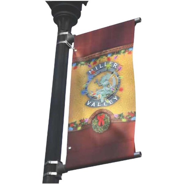 Digitally Printed 14 oz Vinyl UV Ink Street Banner