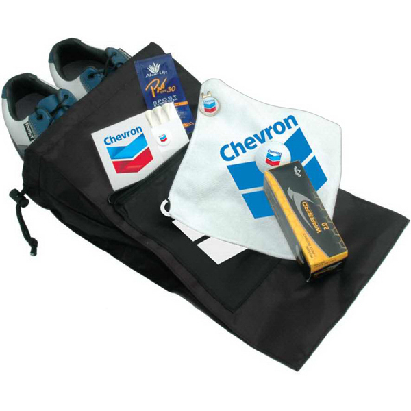 Personalized Basic Shoe Bag Golf Kit