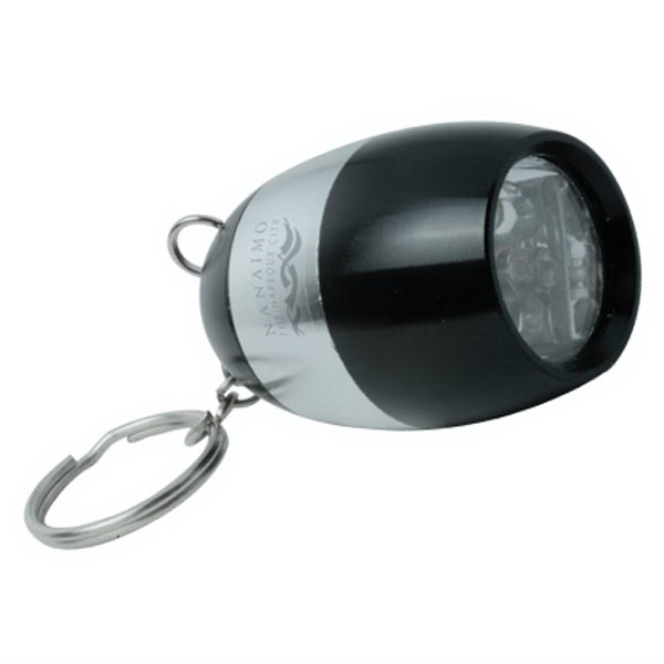 The Powerhouse Super Bright Flashlight On Key Ring