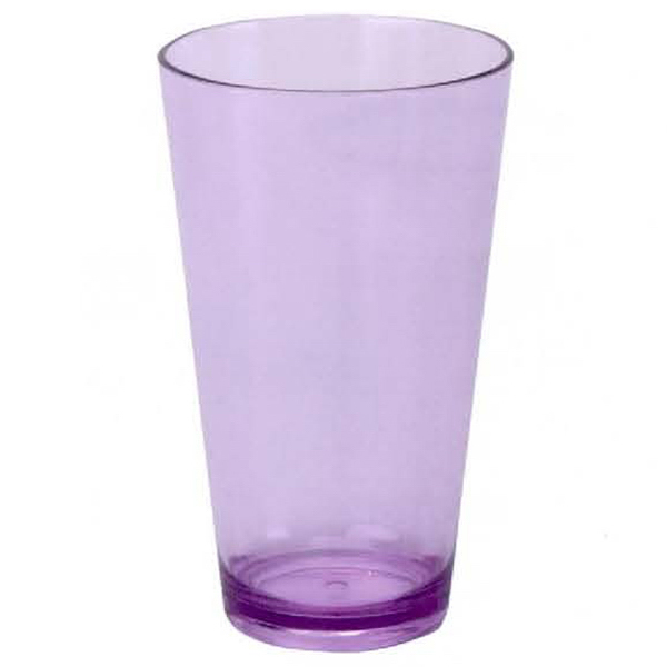 Plastic Colored Pint Glass --- Custom Order from Overseas