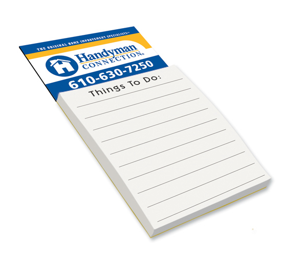 Magnetic Note Pad - Things To Do - Full Color