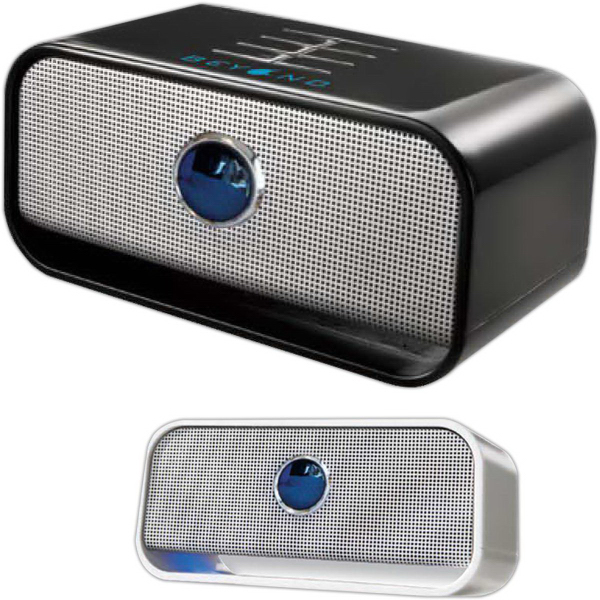 Brookstone (R) Big Blue (TM) Live Wireless Bluetooth Speaker