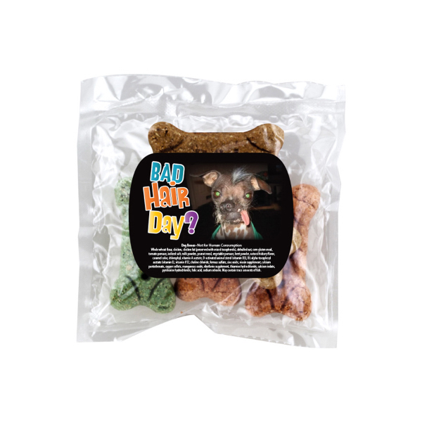 Custom Dog Bones in Promotional Pack