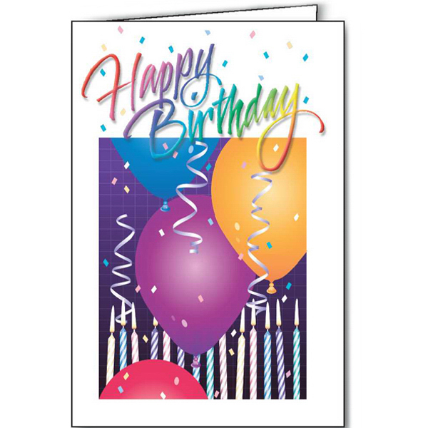 Happy Birthday special occasion card