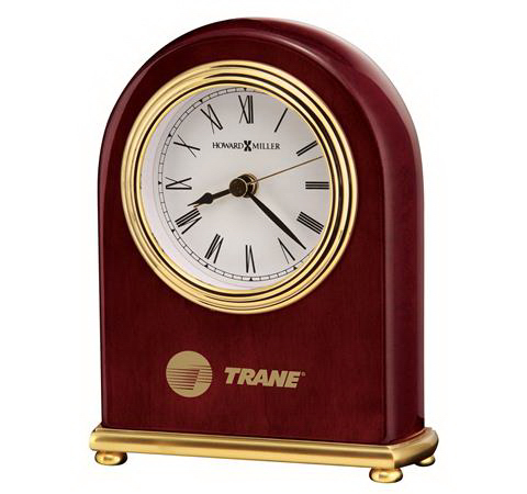 Promotional Rosewood Arch Clock