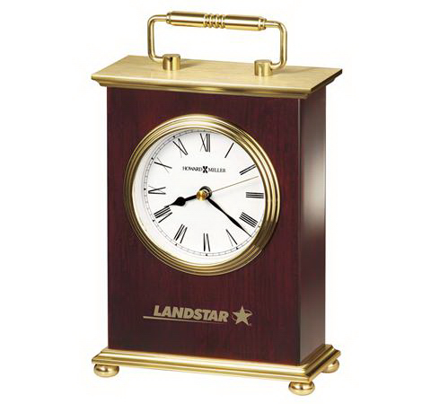 Promotional Rosewood Bracket Table Clock