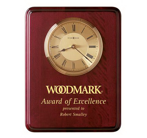 Promotional Honor Time I Clock Plaque
