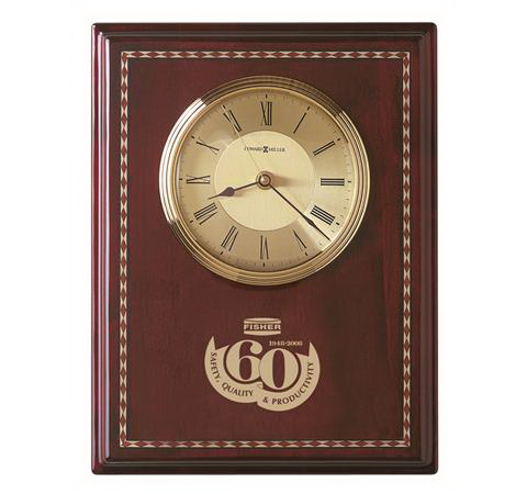 Promotional Honor Time II Clock Plaque