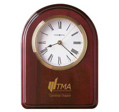 Customized Honor Time IV Clock Plaque