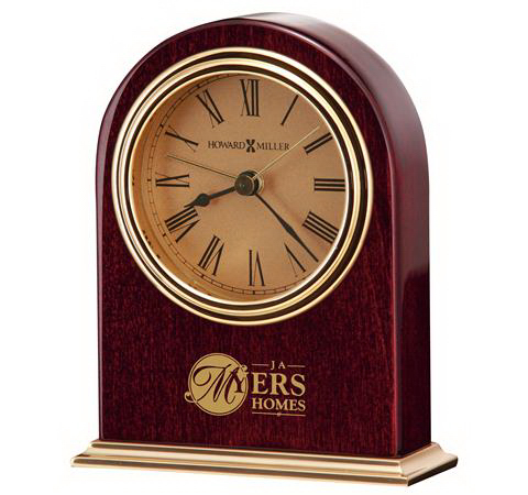 Printed Parnell Table Alarm Clock