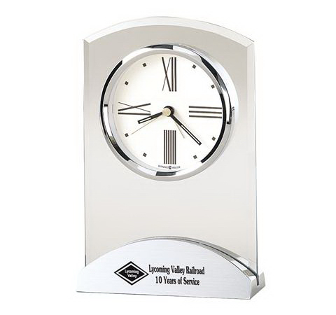 Customized Tribeca Glass Clock