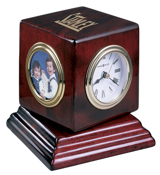 Imprinted Reuben Clock