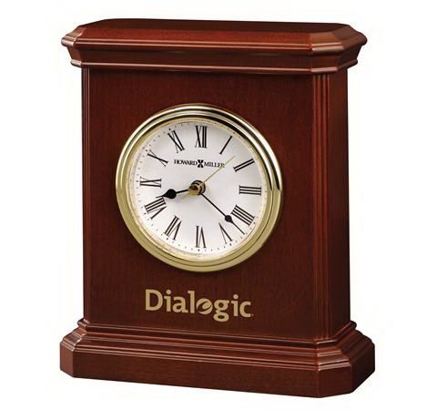Customized Windsor Carriage Table Clock