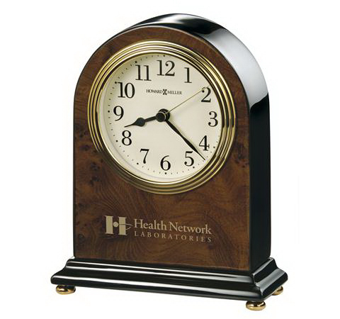 Custom Bedford Table Clock