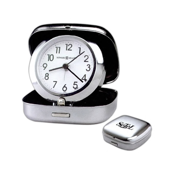 Promotional Clam Shell Alarm Clock