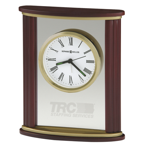 Promotional Victor Glass Table Clock