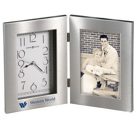 Promotional Lewiston - Photo Frame Clock