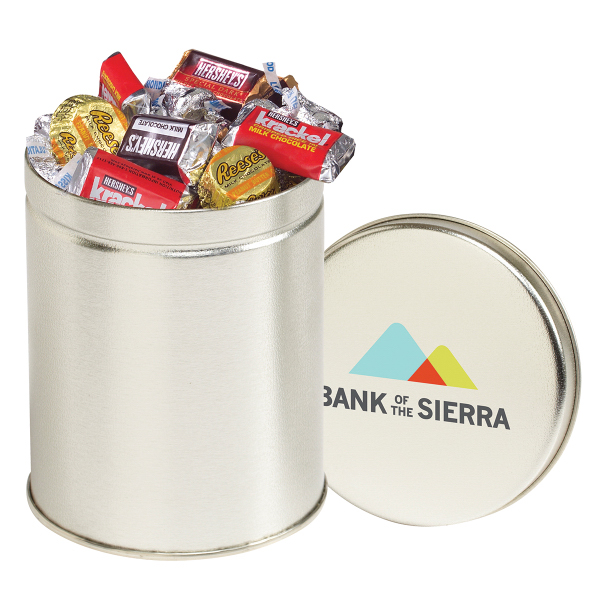 Round Quart Tin / Hershey's (R) Everyday Mix