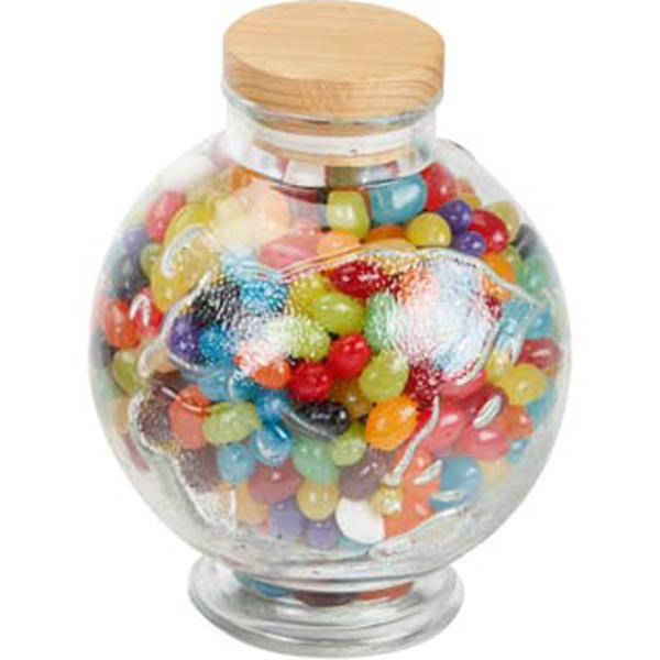Promotional Large Globe Jar-Jelly Beans