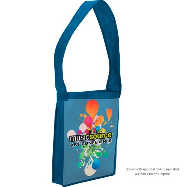 Laminated Non-Woven Shoulder Tote