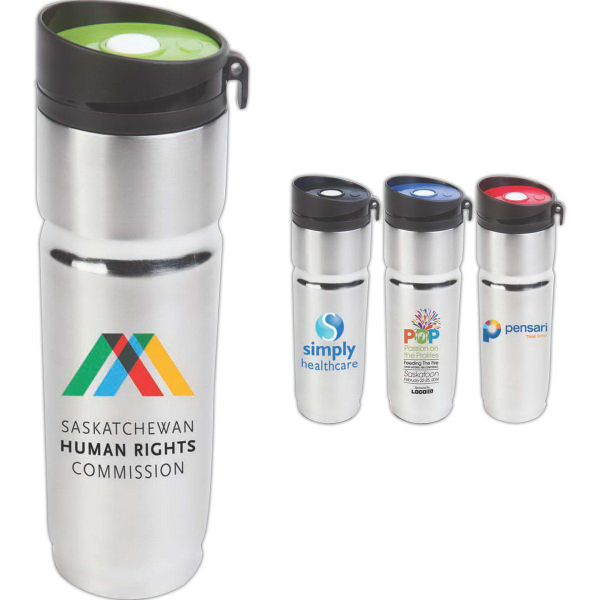 The Crown 14 oz Double Walled Stainless Steel Tumbler
