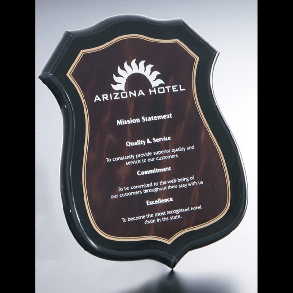 Imprinted Plaque