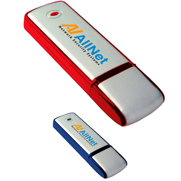 Customized Square Two-Tone USB 2.0 Flash Drive