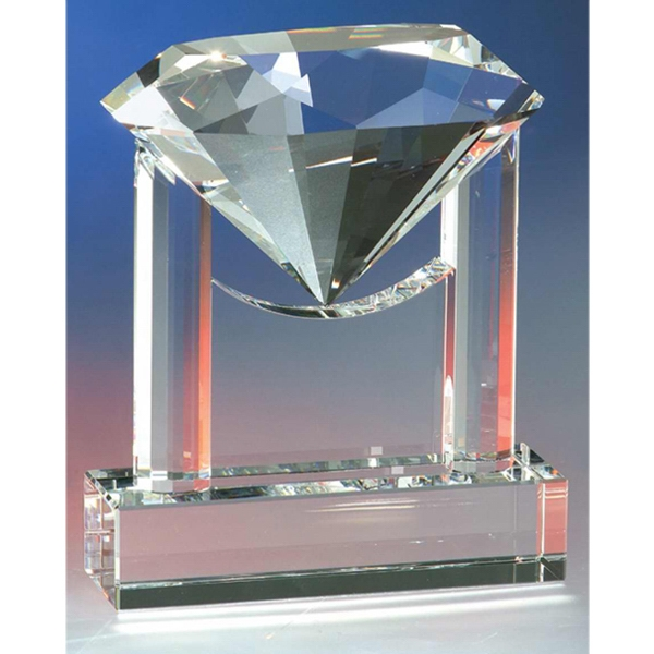 Customized Diamond Trophy