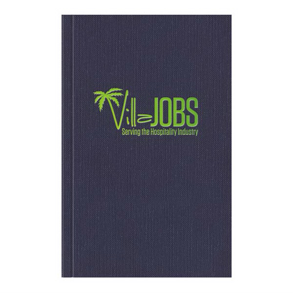Imprinted PerfectBook (TM) Linen Large JotterPad