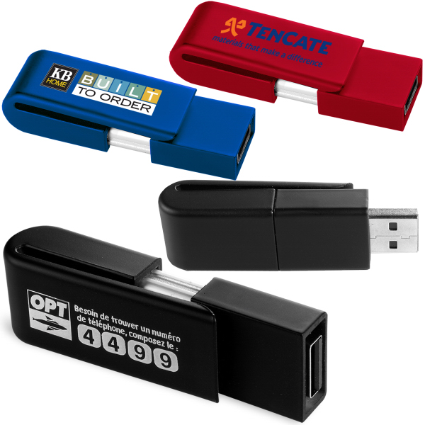 Customized Clip USB Memory Drive 2.0