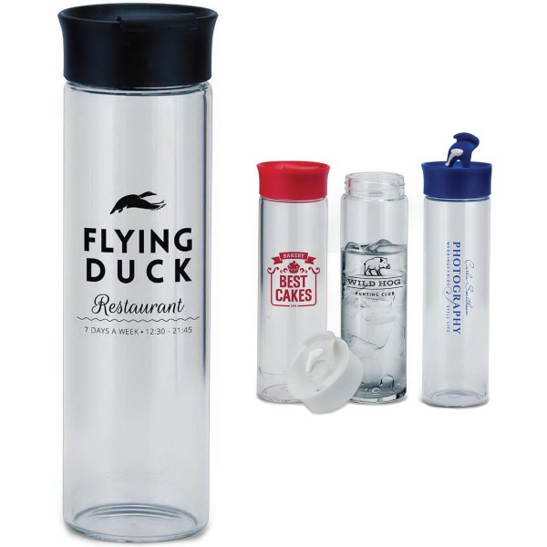 18 oz. Glass Water Bottle