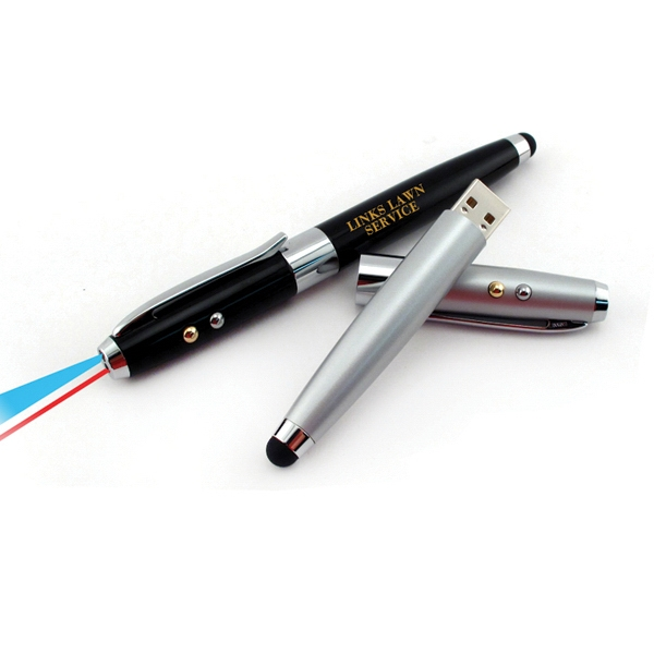 Multi-Function Stylus with USB